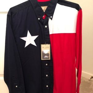 🎉NEW WITH TAGS!! Men's Texas Lone Star Shirt